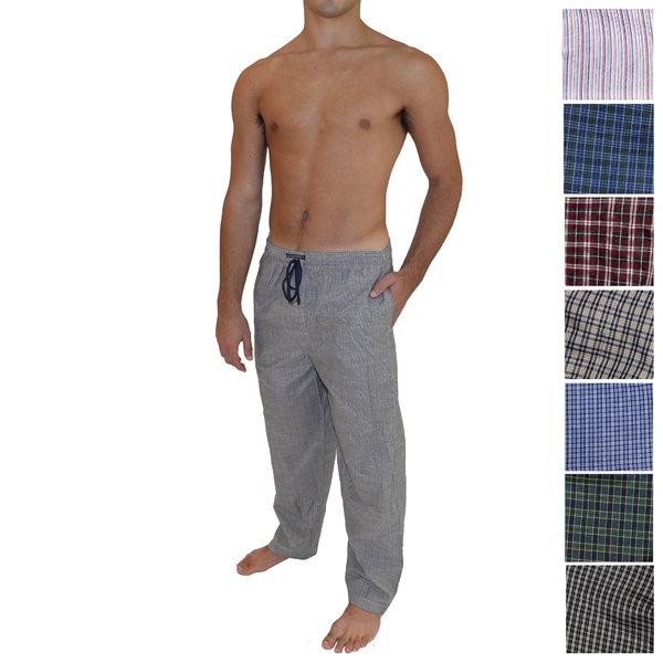 2 Pairs Andrew Scott Soft Woven Lounge Pants