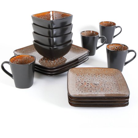 Better Homes and Gardens Atlas 16-Piece Dinnerware Set