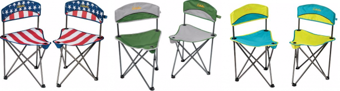Cabela's Padded Tripod Chairs 2-Pack