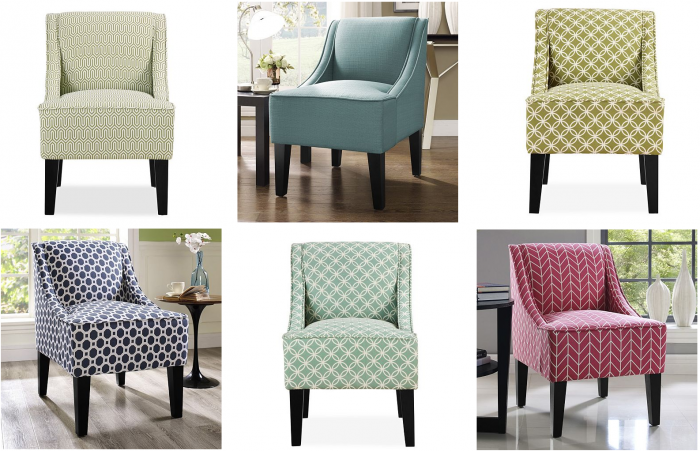 Charmant Charlotte Swoop Arm Chair