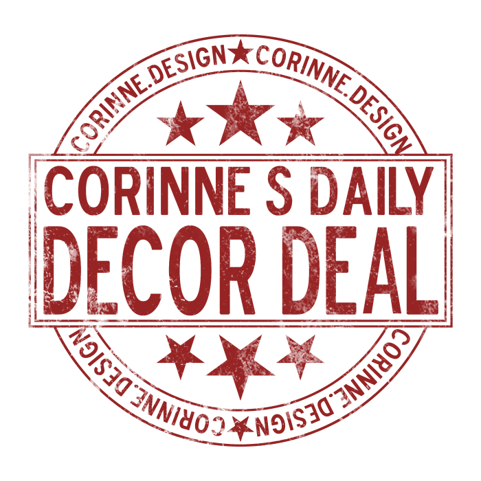 Corinne's Daily Decor Deal - White (1)