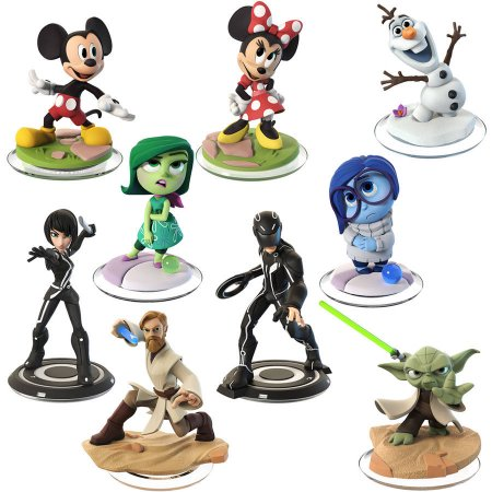 Disney Infinity 3.0 9 Figure Value Bundle