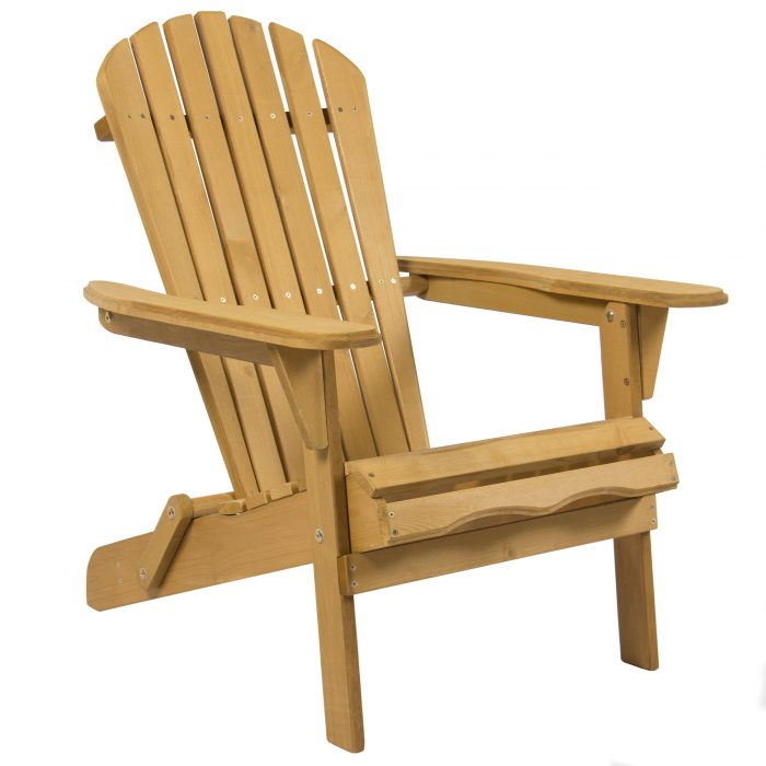 Foldable Adirondack Wood Chair