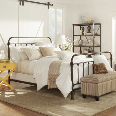 Fixer Upper Style Iron Bed Frames Starting At 120 00