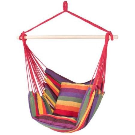 Hanging Rope Hammock Chair Swing