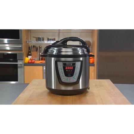 Harvest Cookware Pro 6-Quart Electric  Pressure Cooker