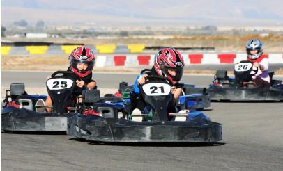 High Speed Go-Karts at Utah Motorsports Campus