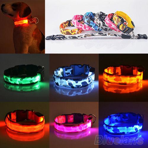 LED Night Safety Pet Collars