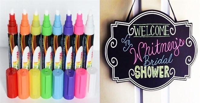 Liquid Chalkboard Markers Blowout