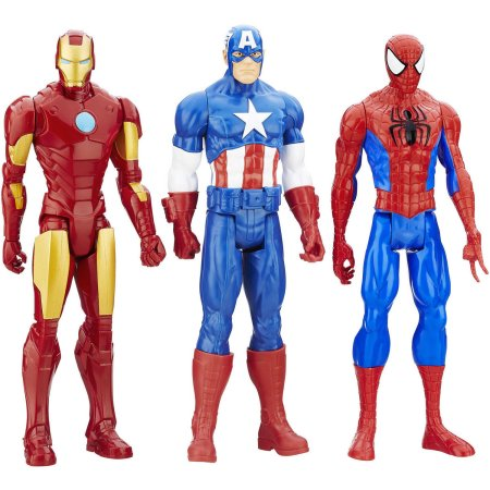 Marvel Titan Hero Series, 3-Pack
