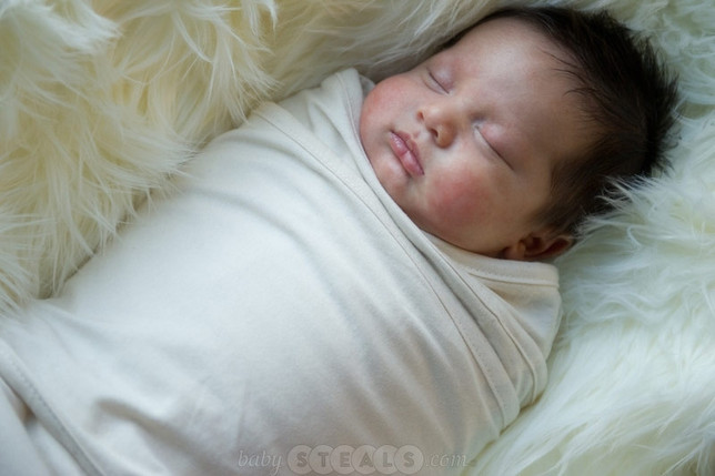 Miracle Blanket Swaddle Blanket White