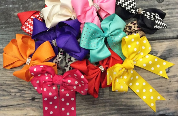 Set of 12 Large Bow Grab Bag Bows