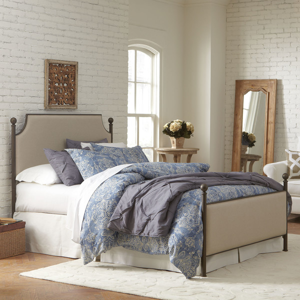 Marvelous Williston Panel Bed BL
