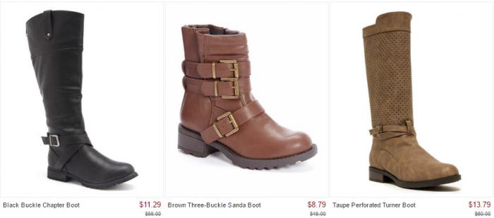 boots zulily deals