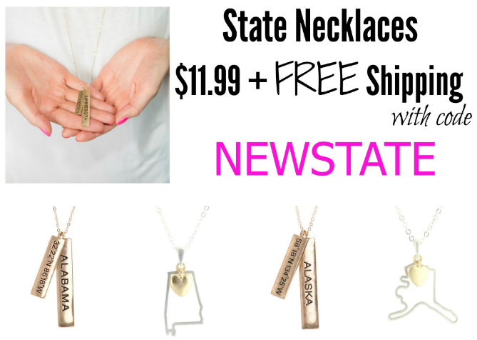 cents of style state necklaces