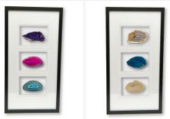 framed agates