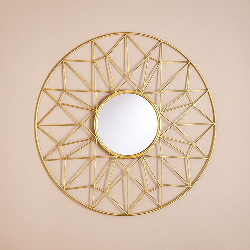 gold mirror