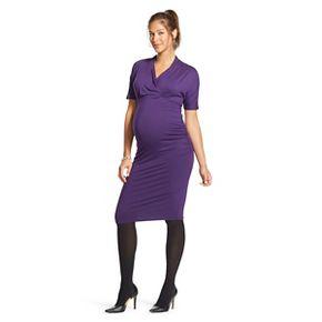 maternity wrap dress