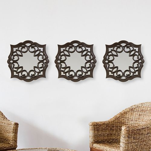 Ay 3 Piece Swirl Wall Mirror Set 30 79 After Coupons Regulary 89 99