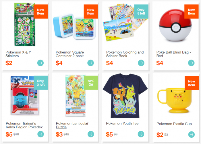 pokemon shirts toys gifts hollar deal