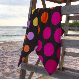 polka dot towels