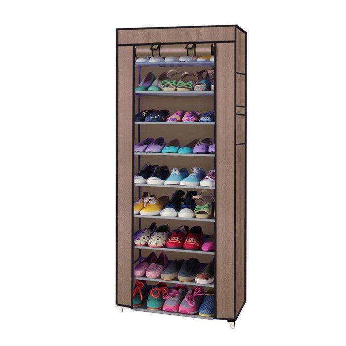 10 Tiers Shoe Rack Closet Organizer