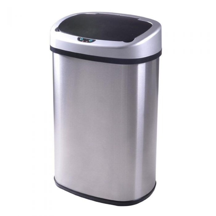 13-Gallon Touch Free Automatic Trash Can