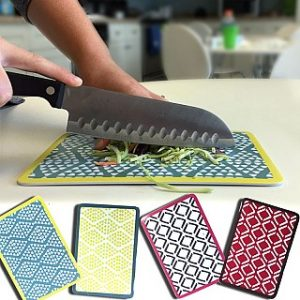 2 Pack Of Melamine Cutting Boards in Fun and Trendy Designs