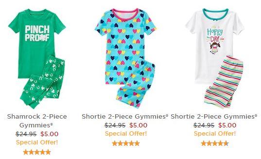 $5 pajamas