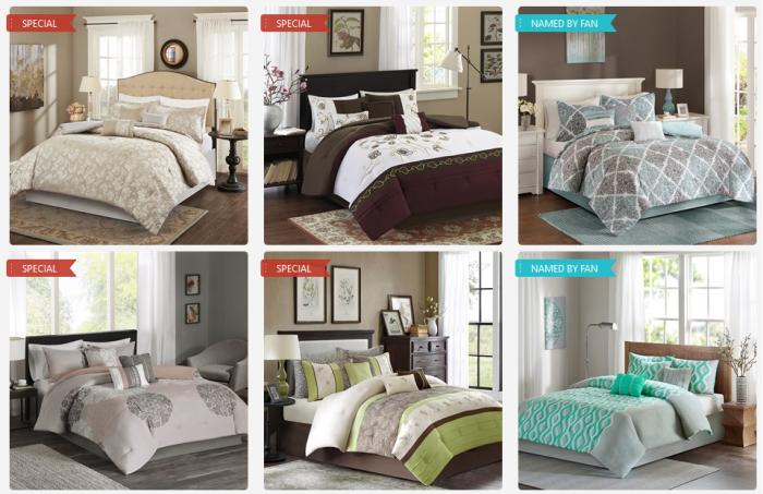 7 piece bedding sale designer living