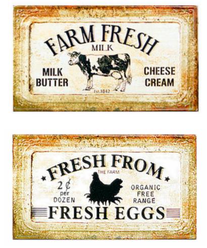 Capture farm fresh eggs