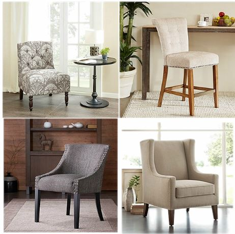 Capture upholstered chairs