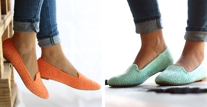 Color Loafer Flats