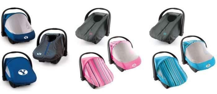 Cozy Cover Car Seat Canopy Sets