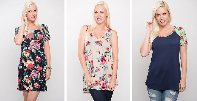 Floral Tops & Dress Sale