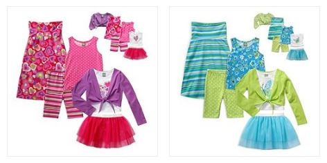 Girls 4-12 Dollie & Me 12-pc outfits