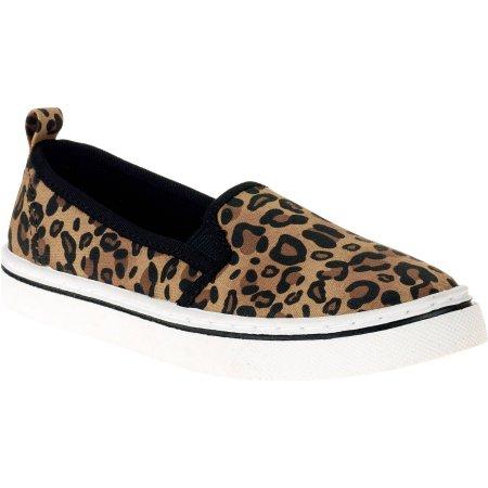 35f8117119c Girl s Leopard Slip-on Shoe Only  5 (Reg.  9.98)