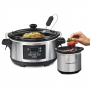 Hamilton Beach Set & Forget 6-Quart Slow Cooker w Temperature Probe
