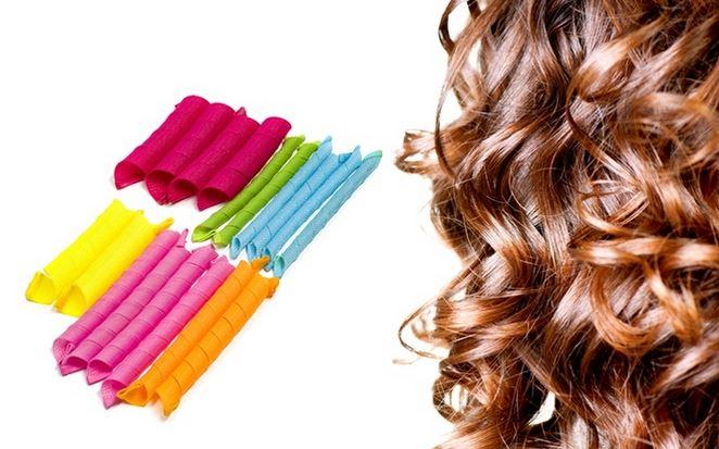 Heatless Hair Curler Set