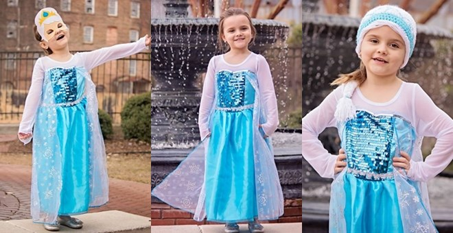 Ice Queen Dress Blowout
