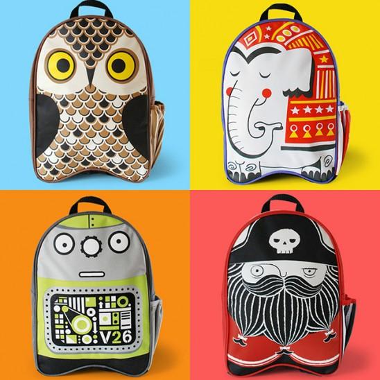 Kids Canvas Backpacks