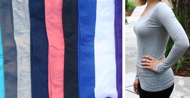 Long Sleeve Layering Top
