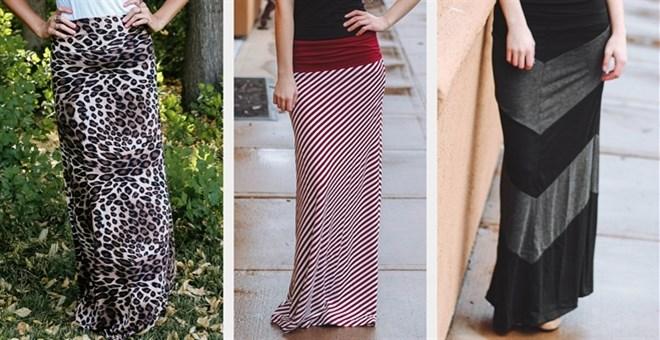 Maxi Skirt Clearance