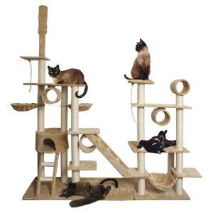 OxGord Premium Cat Tree Tower Condos