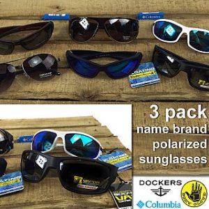 Polarized Sunglasses With Microfiber Cases