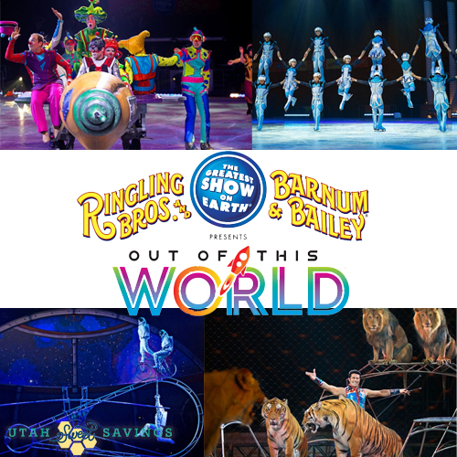 Ringling Bros. and Barnum & Bailey Presents Out Of This World on September 24-September 26