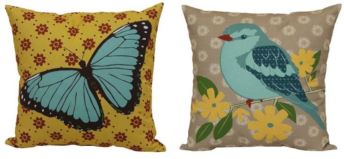 SONOMA Goods for Life Print Indoor Outdoor Reversible Throw Pillow