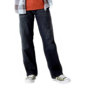 Signature by Levi Strauss & Co. Boys' Boot Cut Fit Jeans Only $12.50