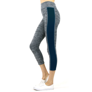 Women's Two-Tone Space Dye Capri