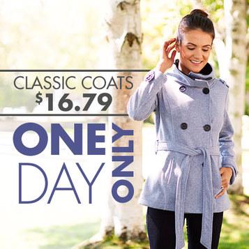 belted fleece coat